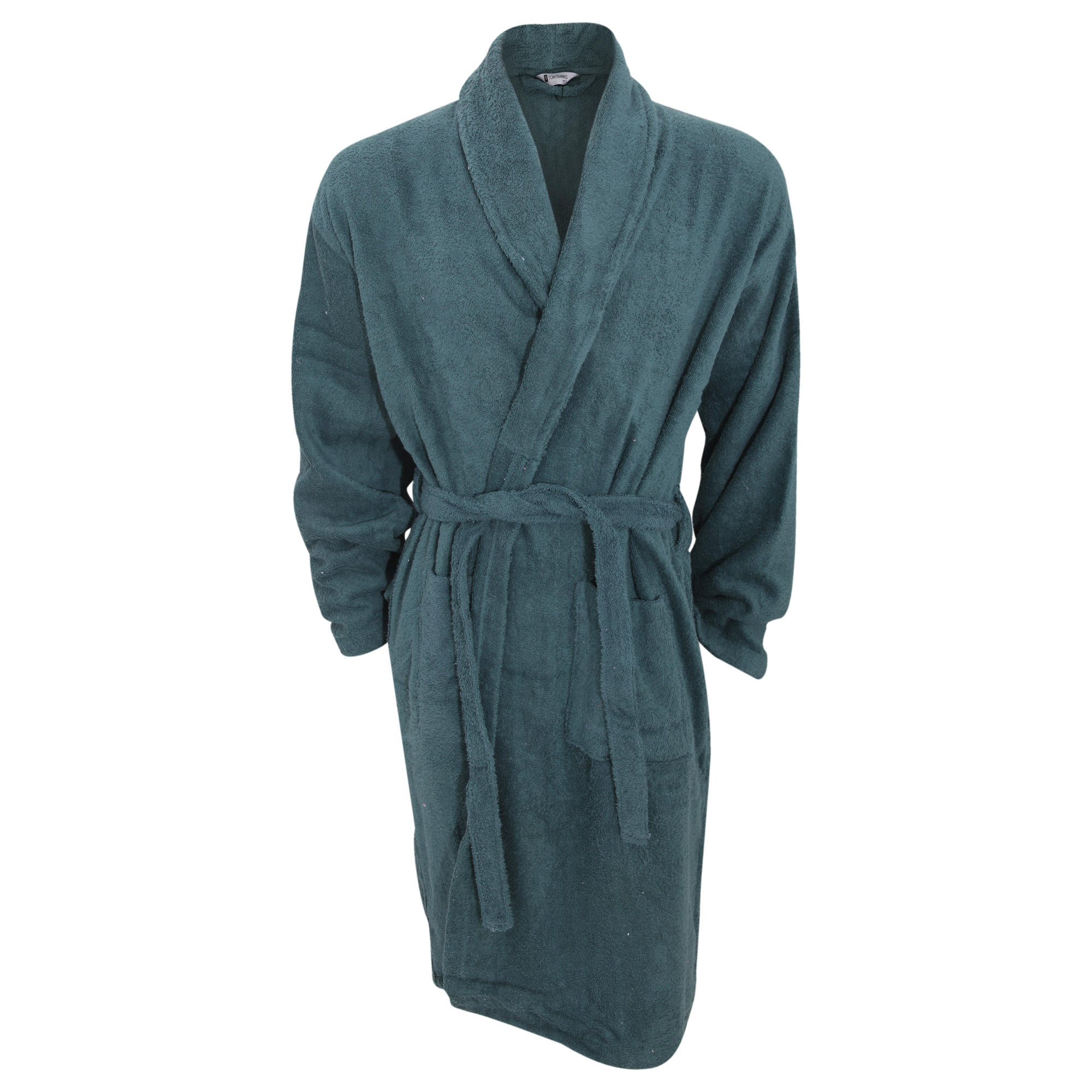 Cotton On Dressing Gown Mens Plain Cotton Towelling Robe Dressing Gown Ebay