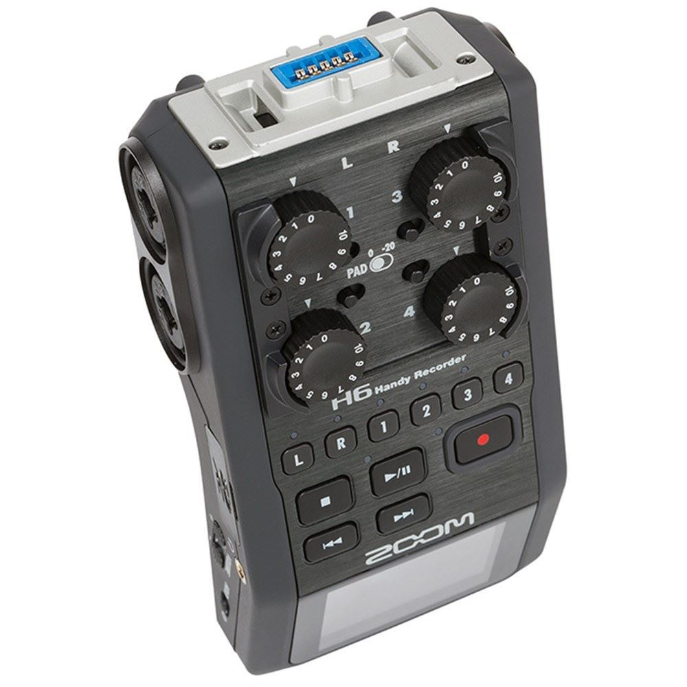 Zoom H6 Recorder Zoom H6 Handy Recorder