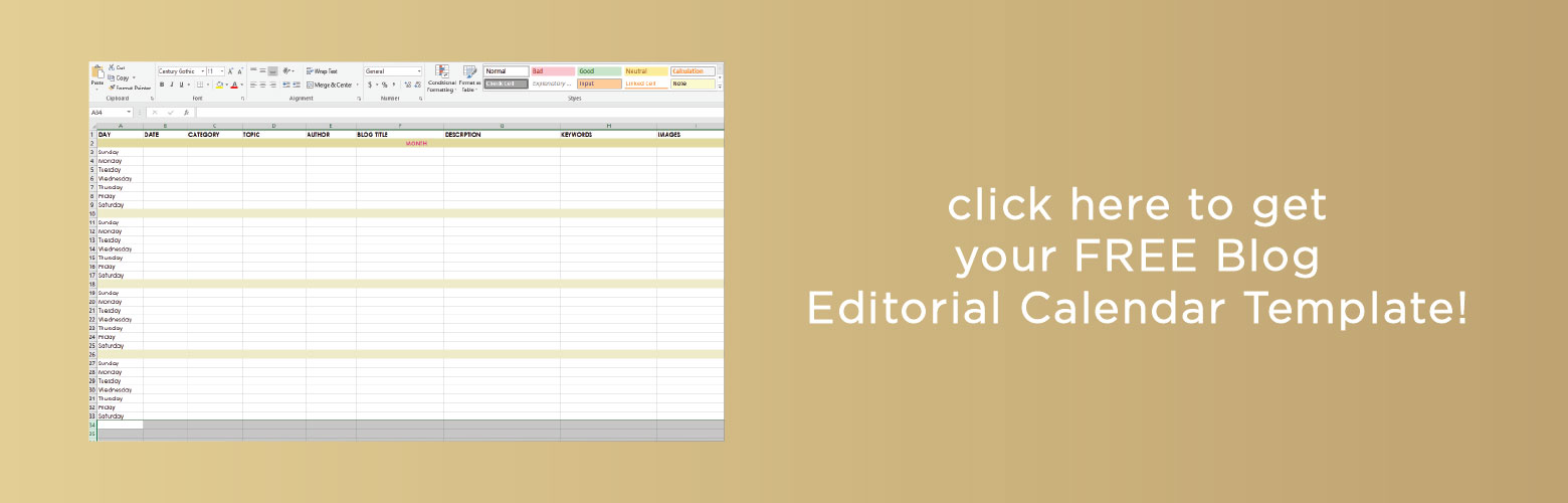 blog-editorial-calendar-template-megan-martin-creative - Megan - editorial calendar template