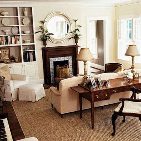How To Arrange A Desk In The Living Room - Megan Morris