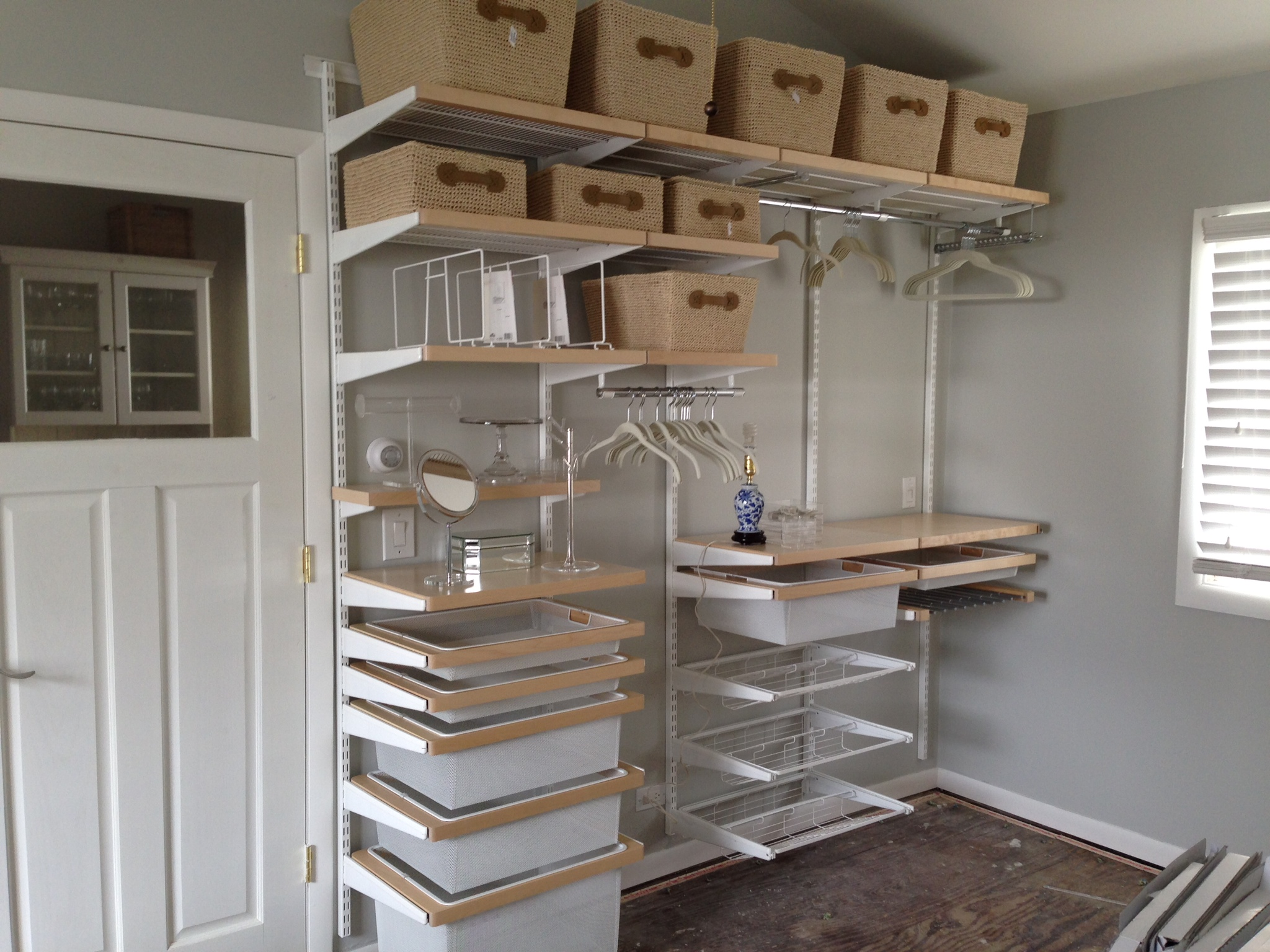 Elfa Storage System Organizing With Elfa In The Bedroom Megan Opel Interiors