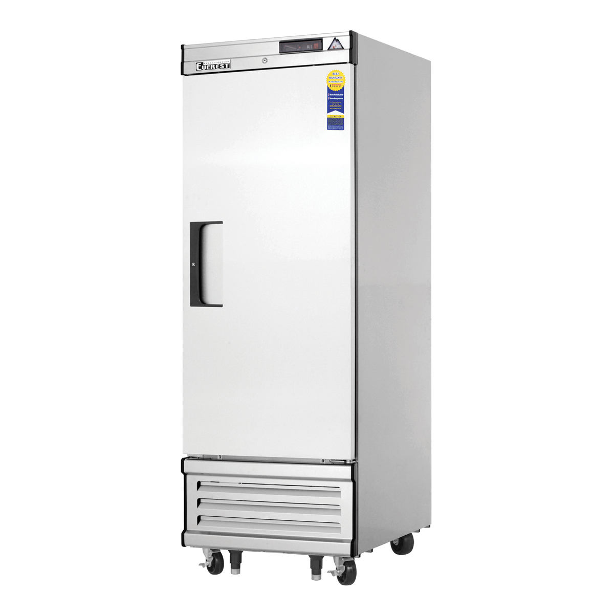 Doors Everest Everest Ebf1d 27 Single Door Deep Reach In Freezer