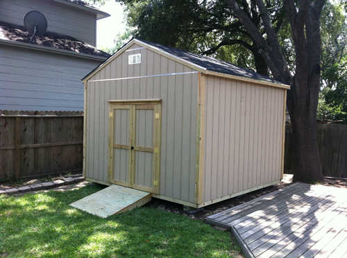 Storage Shed Ramps Learn How Section Sheds