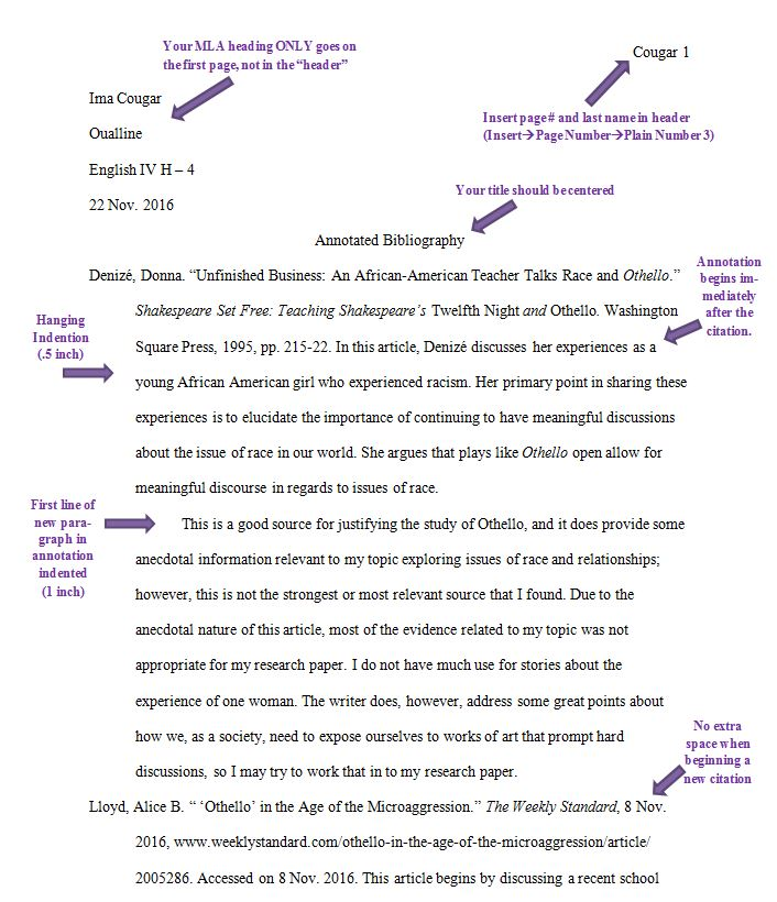 Annotated Bibliography Paper - How to write an Annotated
