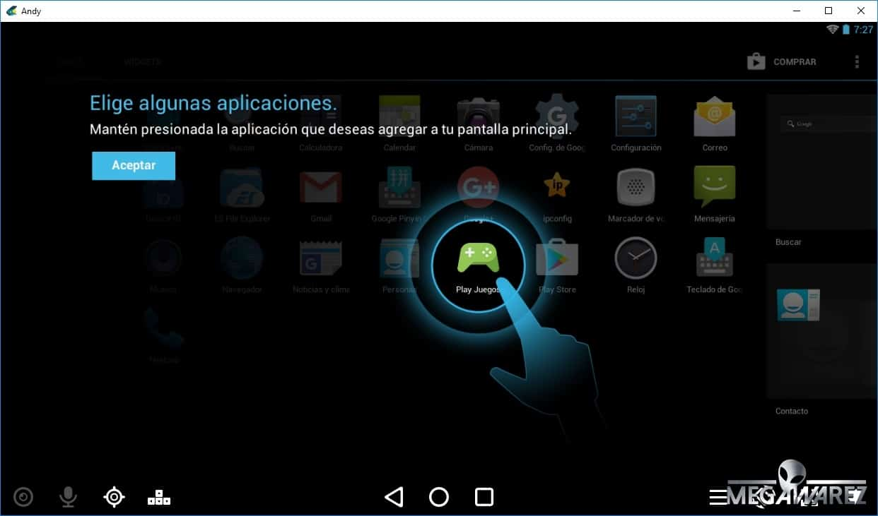 Telefono Moviles Libres Andy Android Emulator V47.260.1096.26, Emulador Android