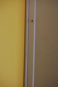 Weatherstripping your front door | DIY Project-aholic