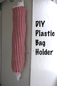 Plastic Bag Holder | DIY Project-aholic