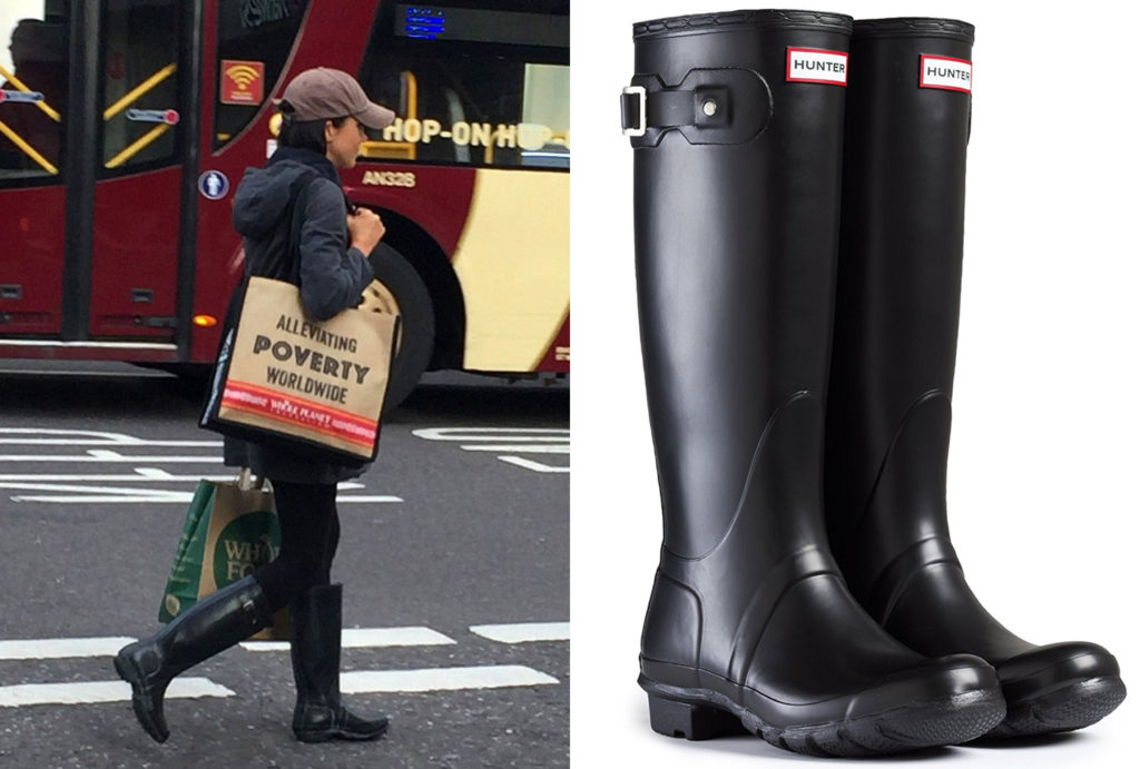 Meghan Spotted In Hunter Boots Leaving Whole Foods In