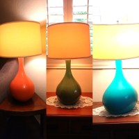 DIY Mid-Century Modern Lamps | Meghan on the Move