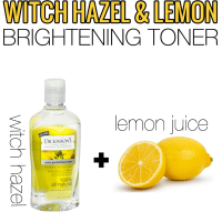 Witch Hazel & Lemon Toner