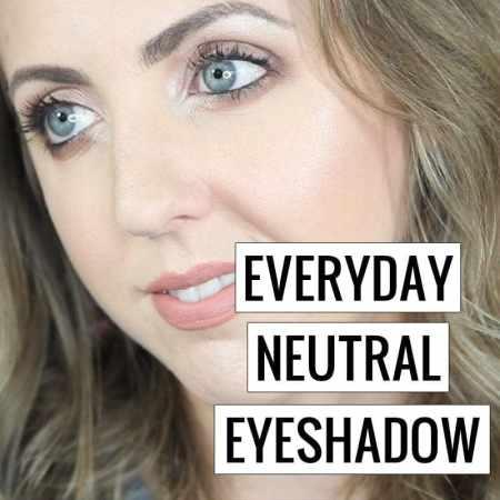 Everyday Neutral Eyeshadow Look