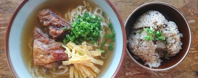 沖縄の食堂と言えばこのおはしだよね(笑)
