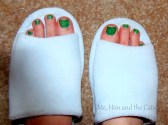 Feet In Slippers 300x223 Natures Sleep Slipper Review/Giveaway!  (#FreeProductReceived)