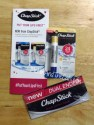 NEW ChapStick® dual-ended Hydration Lock Day and Night