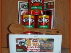 RedPack Slow Cooker Recipe Kit