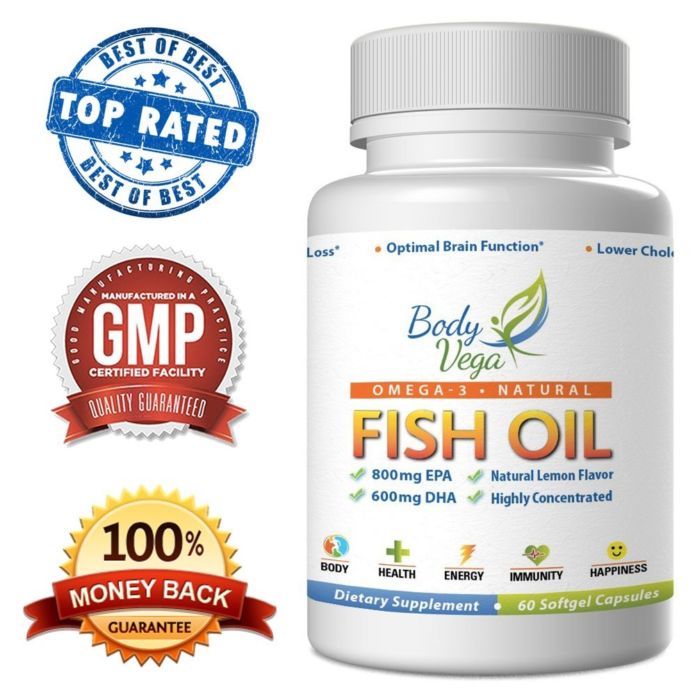 bodyvega pure omega 3 fish oil supplement review