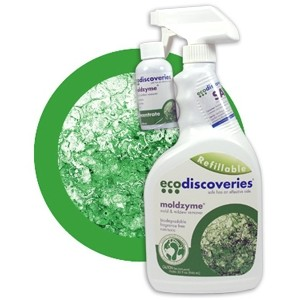 EcoDiscoveries Mold Logo EcoDiscoveries MoldZyme Mold & Mildew Cleaner Review #EcoDiscover