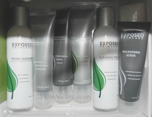 Exposed Skin Care Kit Exposed Skincare System Review #theexposedadvantage
