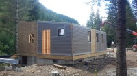 Setting Panelized Walls with ME.Homes