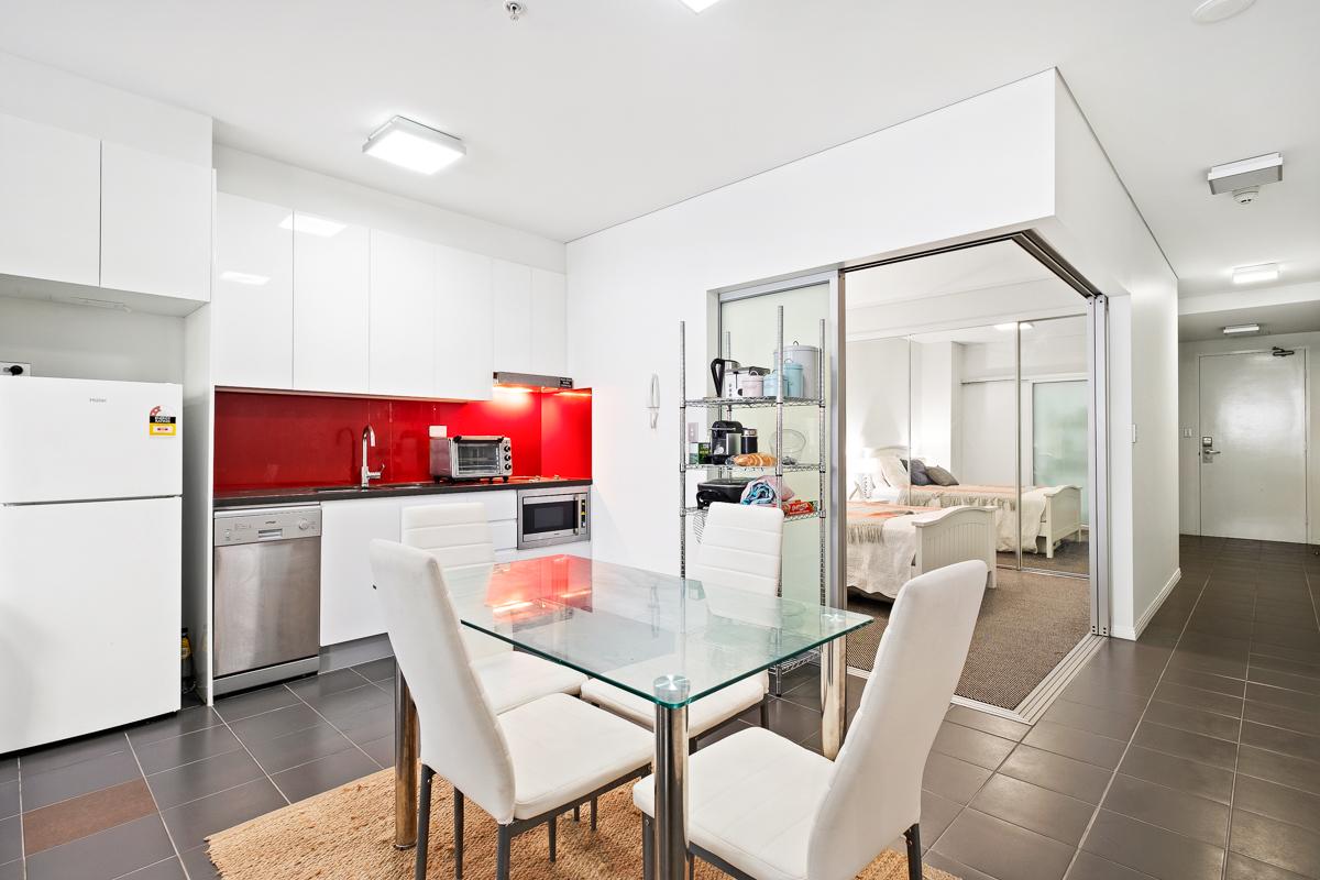 1 Bedroom Apartment Brisbane 303 501 Adelaide Street Brisbane City 4000 Sold 1 Bedroom