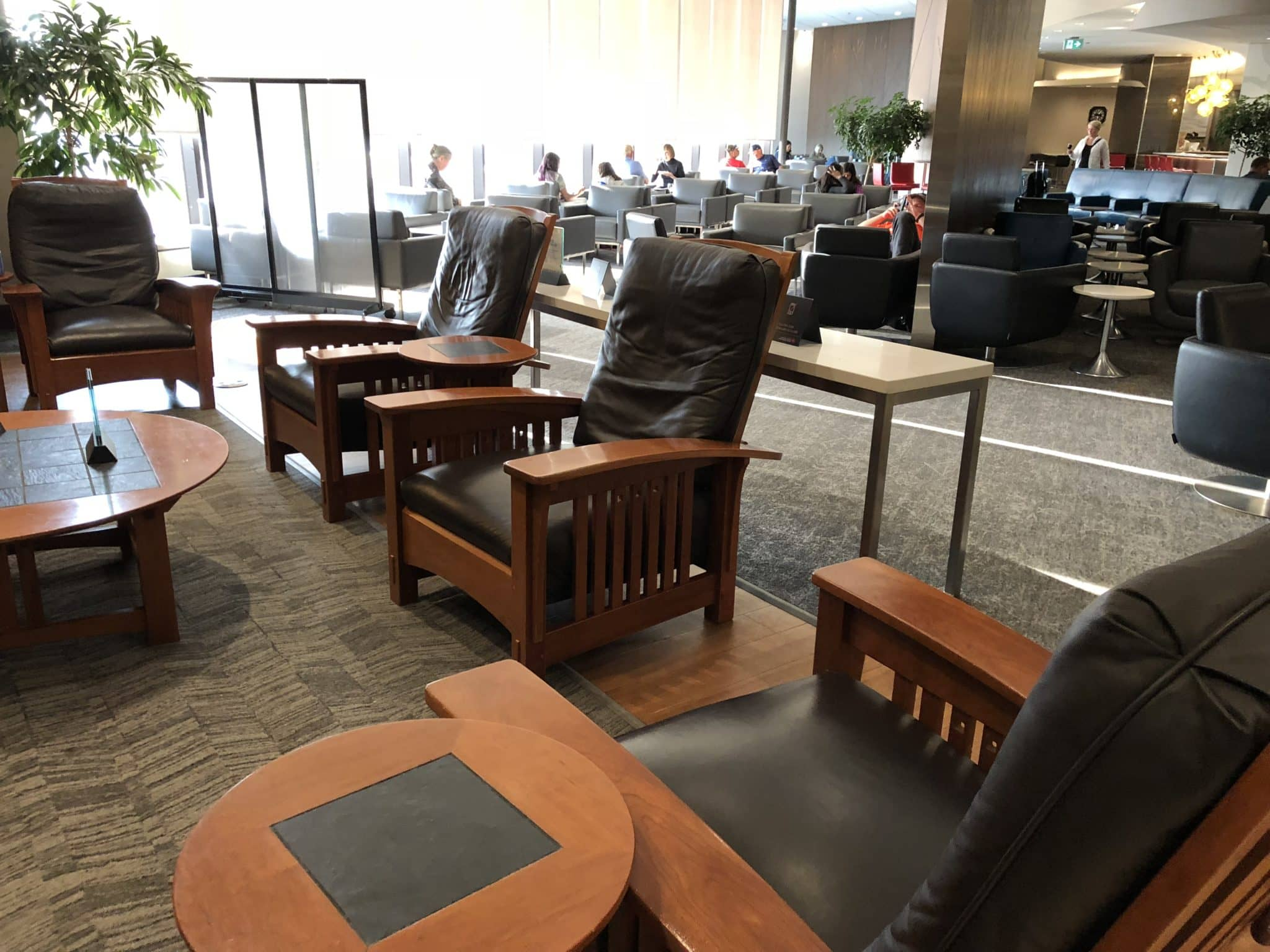 Air Lounge Sessel Review Air Canada Maple Leaf Lounge Calgary