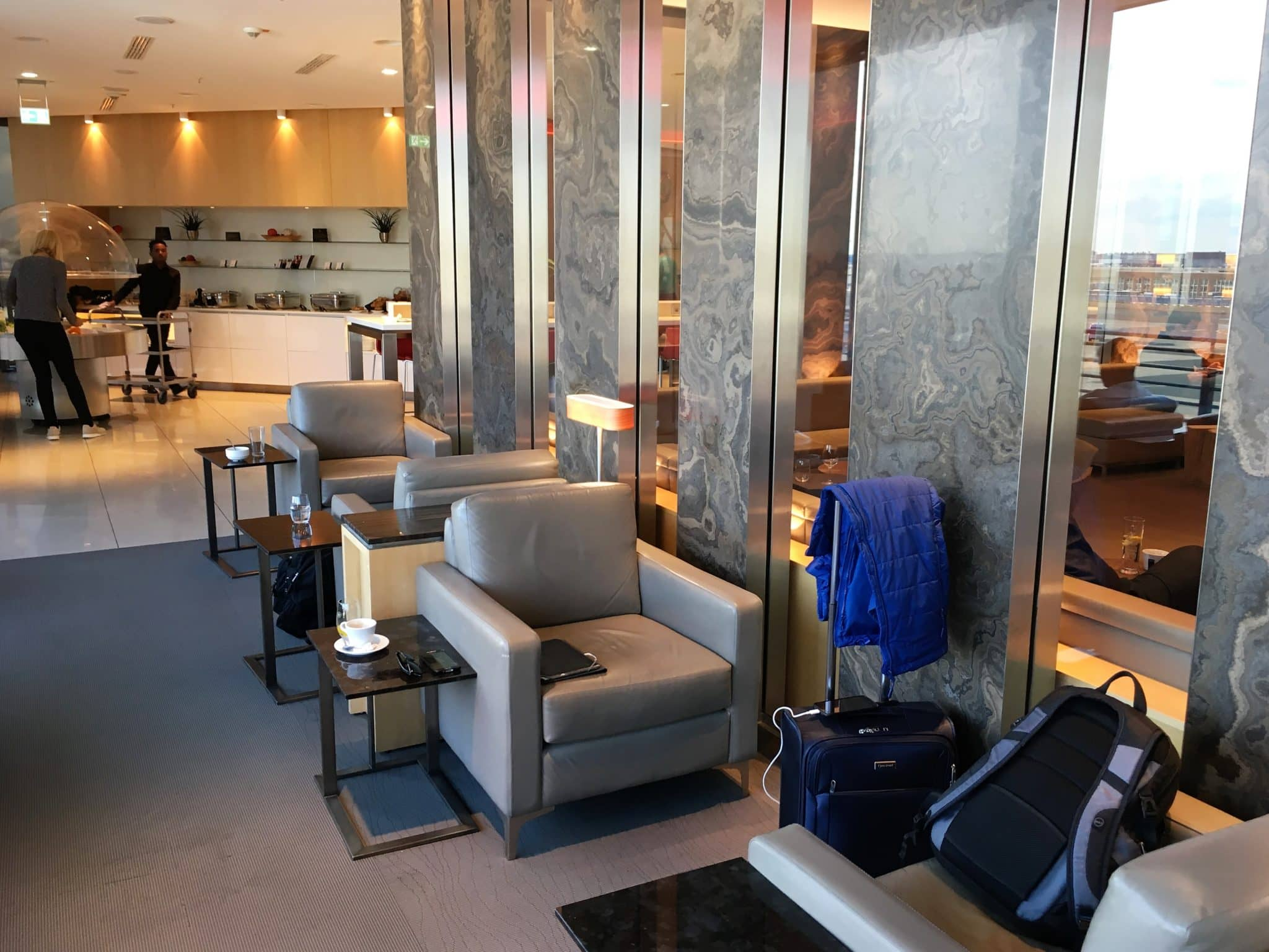Air Lounge Sessel Review Air Canada Maple Leaf Lounge Frankfurt