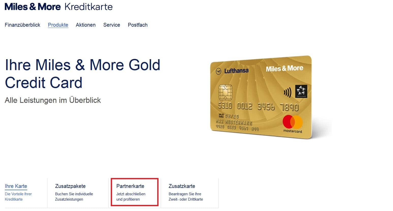 Miles And More Gold Karte Lohnt Sich Die Miles And More Kreditkarte Partnerkarte