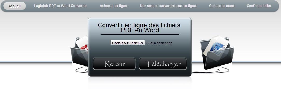 logiciel convertir cv en pdf