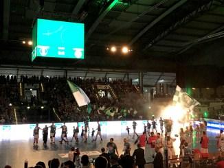 Die Handballer des SC DHfK tragen ihre Heimspiele in der Arena aus. Foto: Linda Polenz