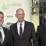 """Beim """"FORUM MITTELDEUTSCHLAND waren die drei Wirtschaftsminister der LŠänder Sachsen, Sachsen-Anhalt und ThŸüringen zu Gast.  Foto: Volkmar Heinz / volkmar@heinz-report.de"""