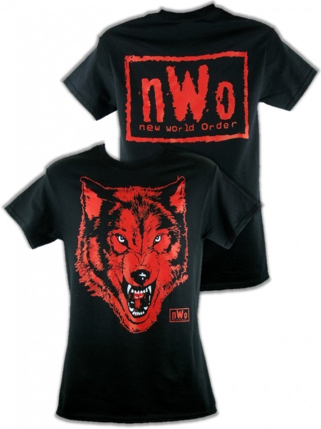 Wwe Bettwäsche Nwo Black Wolfpack Retro T-shirt