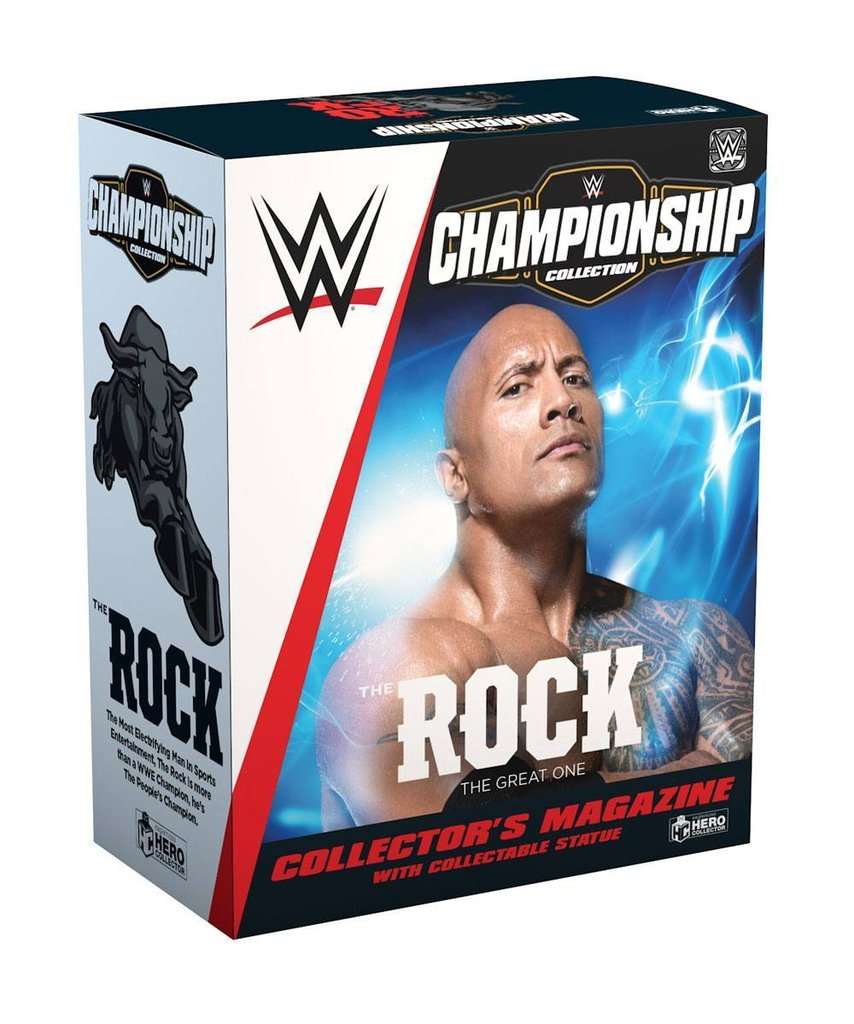 Wwe Bettwäsche Wwe Championship Collection 1/16 The Rock