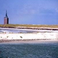 Auf der Fahrt nach Wangerooge kommt die Bahn ins Schwimmen