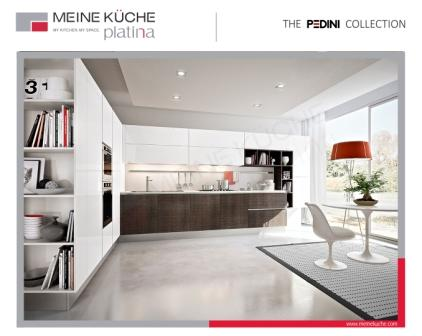 Modern kitchen design is what european cabinets are known for pedini developed eko to allow more people to be able to own an advanced modern design