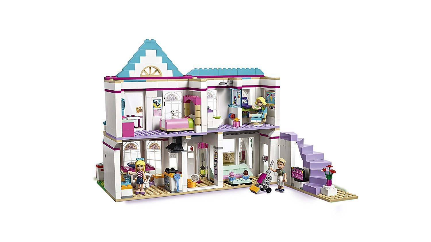 Lego Friends Badezimmer Lego Friends 41314 Stephanies Haus Potsdam Berlin Brandenburg