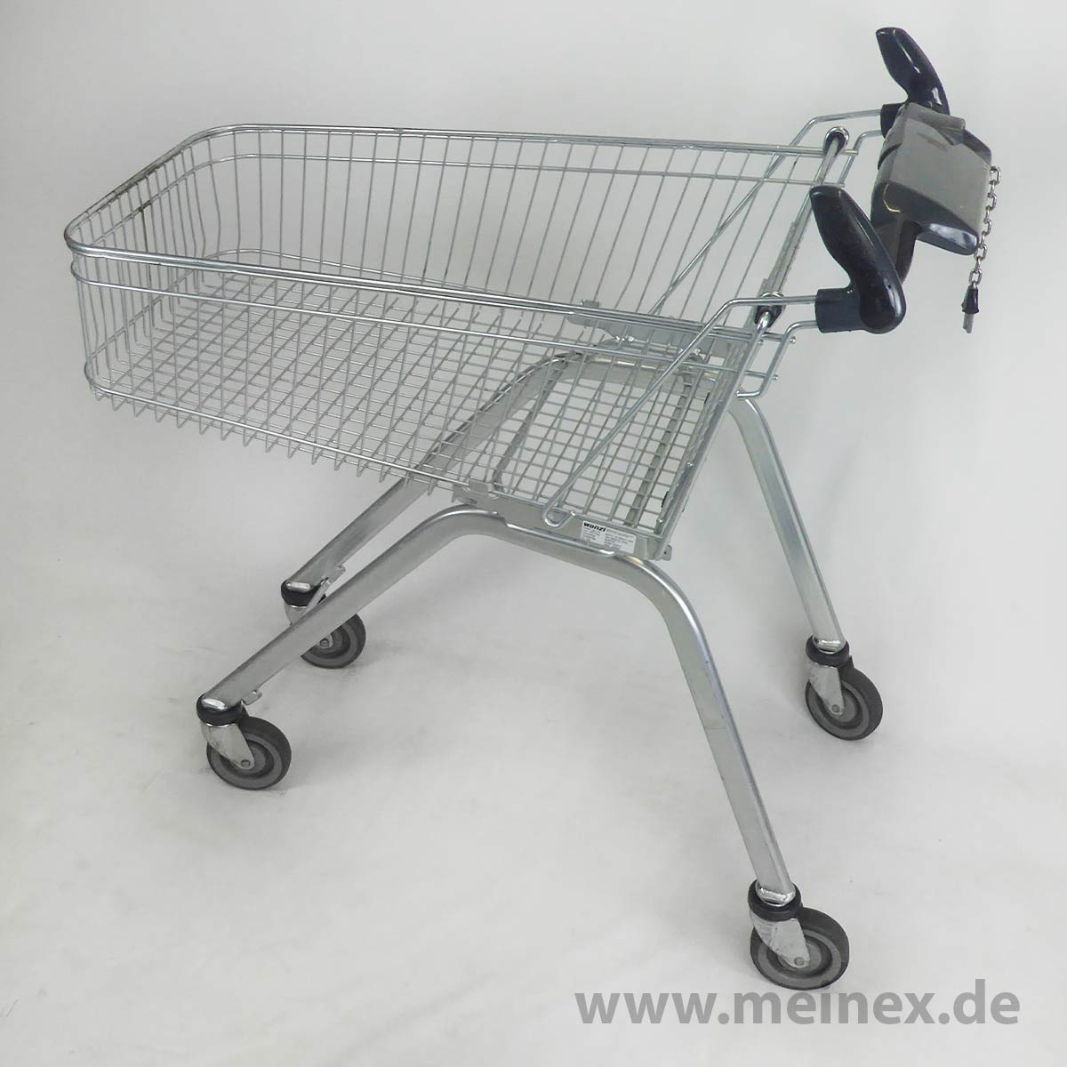 Shopping Trolley Wanzl Light 100 Promotional Handle Used