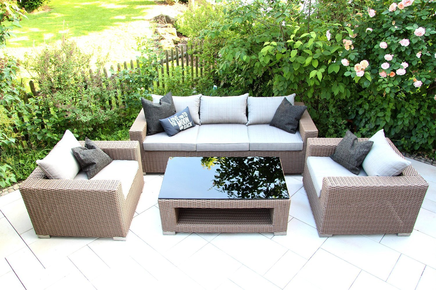 Chili Möbel Outdoor Lounge Möbel Set Chilli By Garderobia Geflecht Toupe