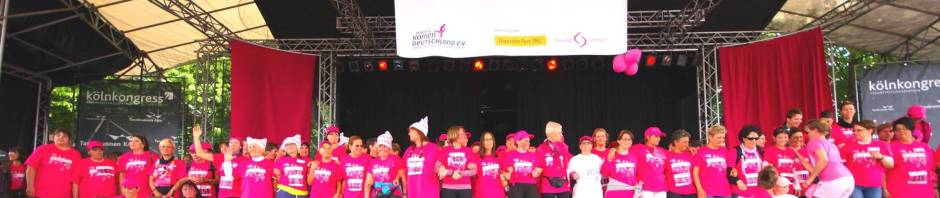 Archibild vom 2.Race for the Cure in Köln 2013.