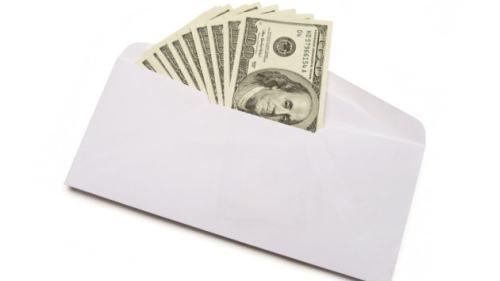 Dinheiro no e-mail