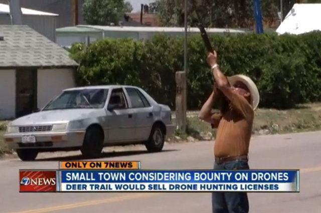 Derruba! Está aberta a temporada de caça aos drones no Colorado