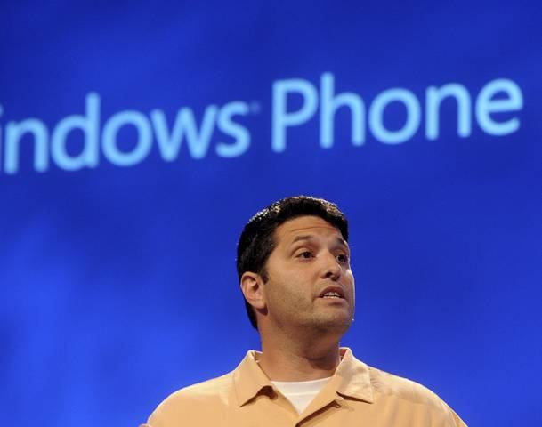 Terry Myerson introduces the Windows Phone 8 mobile operating system in San Francisco