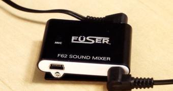 Ouça a sua música predileta junto com o som ambiente usando o Fuser