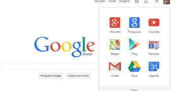 Google altera o menu de navegação de todos os seus serviços