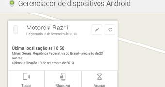 Gerenciador de dispositivos do Android ganha opção para bloquear os aparelhos