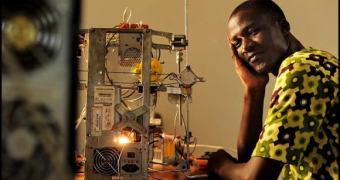 Impressora 3D feita com lixo eletrônico na África