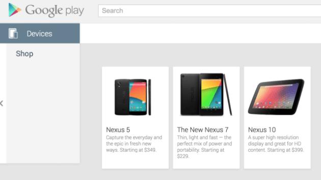 Aparelho apareceu e sumiu da listagem da Play Store (Imagem: 9to5Google)