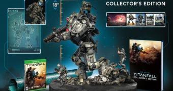 A impressionante edição de colecionador do Titanfall
