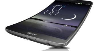 """LG G Flex, smartphone curvo com """"fator de cura"""" é anunciado na Coreia do Sul"""