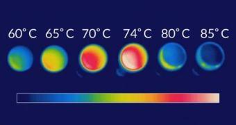 Pesquisadores testam material que emite menos luz infravermelha a medida que é aquecido