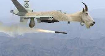 Irã demonstra drone-bomba que Werner Von Braun batizaria de V-Pobre